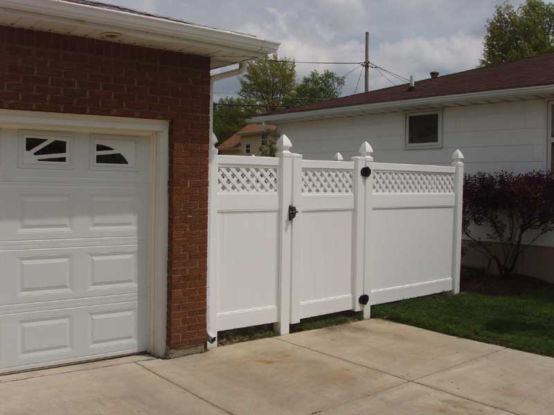 pvc fences and gates